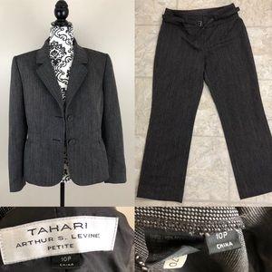Tahari Arthur S. Levine petite suit jacket/pants